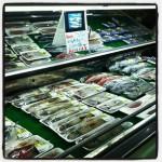 下甑島のスーパー(お魚売り場編)