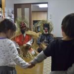 下甑島に伝わる神秘的で厳かな伝統的教育行事「トシドン」