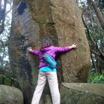 下甑島の知る人ぞ知る謎の巨石、竪石に32人と1匹で行ってきた。